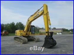 Komatsu PC200LC-8N1 Excavator Tractor Dozer Diesel Used Heat A/C All Glass Cab