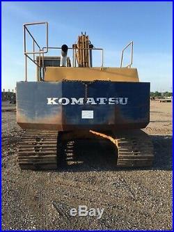 Komatsu PC200 Hydrualic Excavator 5.9 Cummins Diesel RUNS GREAT
