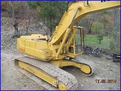 Komatsu PC200 LC-3 Excavator
