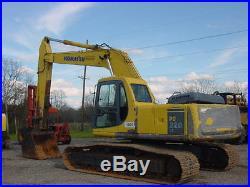 Komatsu PC220LC-6LC Excavator