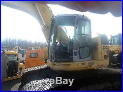 Komatsu PC228 USLC-3 Hydraulic Excavator THUMB! PC228USLC-3 Zero Swing
