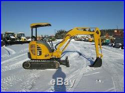 Komatsu PC27MR-2 Used Excavator Tractor Diesel Yanmar Engine Rubber Tracks ROPS