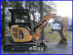 Komatsu PC27 MR-3 Mini Excavator with cab and spare buckets