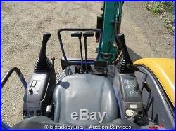 Komatsu PC30MR-1 Hydraulic Mini Excavator Aux Hydraulics 61 Bade Yanmar Diesel