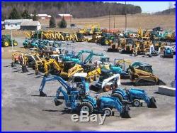 Komatsu PC35MR-2 Mini Excavator Tractor Dozer Used Diesel Cab Heat Rubber Tracks
