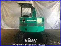 Komatsu PC38UU Mini Excavator