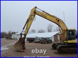 Komatsu PC400LC-6LC Hydraulic Excavator Trackhoe Hyd Q/C Aux Hyd Cummins bidadoo