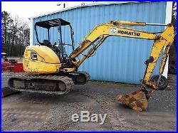 Komatsu PC45MR Hydraulic Diesel Mini Excavator