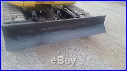 Komatsu PC75UU Excavator Trackhoe Backhoe Dozer Diesel Engine SLIDEARM