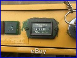 Komatsu Pc03-1 Rubber Track Mini Excavator, 12 Bucket Only 1200 Hrs Diesel Hd