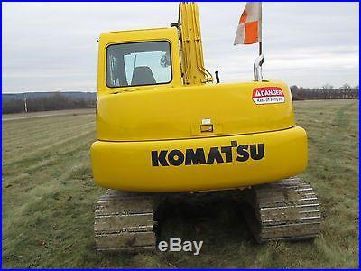 Komatsu excavator pc-60-7E mint, long stick