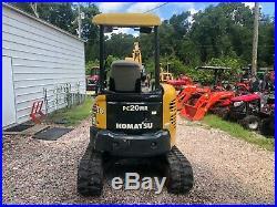 Komatsu pc20 mini excavator