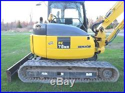 Komatsu pc78-6 MR excavator