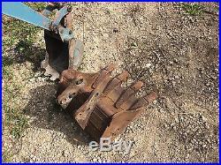 Kubota, Diesel, Mini/Micro/Compact Excavators (Case, Bobcat, CAT)