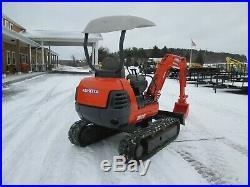 Kubota K020 Mini Excavator Tractor Dozer Diesel Rubber Tracks Used 40/90 Boom