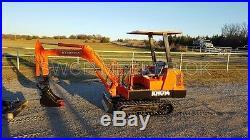 Kubota KH014 Mini Excavator Trackhoe Backhoe Dozer Kubota Diesel Engine