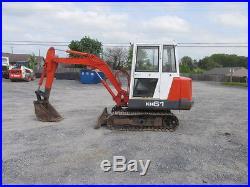 Kubota KH61 Mini Excavator withCab