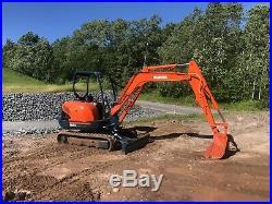 Kubota KX121-3 Excavator