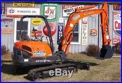 Kubota KX121 Mini Excavator Trackhoe Backhoe