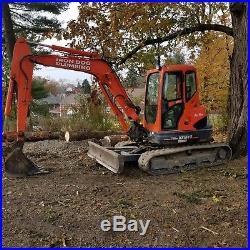 Kubota KX161-3S Excavator with Hudson Trailer & Buckets