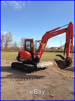 Kubota KX161-3 Excavator, 2154 Hours