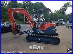 Kubota KX161-3 Excavator with only 496.0 hours