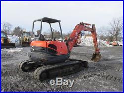 Kubota KX161-3 Mini Excavator
