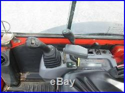 Kubota KX71-3S Mini Excavator Tractor Dozer Rubber Tracks CAB 3RD Valve