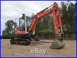Kubota KX71-3 mini Excavator £13,750 Plus VAT 2.8 tonne Can Deliver