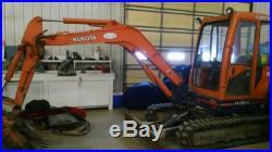Kubota KX 121-2 Mini Excavator