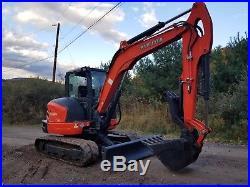 Excavators » Blog Archive » Kubota Kx057-4 Excavator Fully