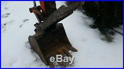 Kubota Kx121-3 Excavator Angle Blade Hydraulic Thumb