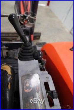 Kubota Kx121-3 (super Series) Mini Compact Track Excavator With Angel Blade