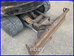 Kubota Kx121 Excavator -kubota Mini Excavator, Cab, Heat, 2 Spd, Aux