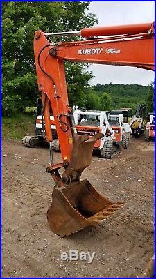 Kubota Kx161-3 Excavator Cab Heat A/c Hydraulic Thumb Ready To Work