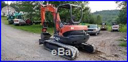Kubota Kx161-3 Excavator Hydraulic Thumb Low Hrs Ready To Work
