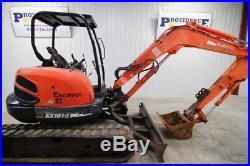 Kubota Kx161-3 (super Series) Mini Compact Track Excavator, 11532 Oper. Weight