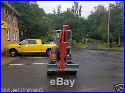 Kubota U25 Mini Excavator only 844 hours