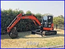 Kubota U55 Mini Excavator Ready To Work