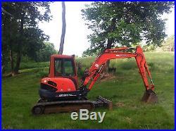 Kx161-3 Kubota excavator