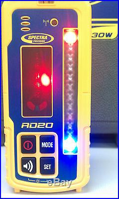 LR30W Spectra Precision Wireless Laser Receiver with NEW RD20 Remote Display