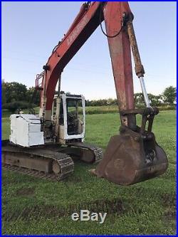 Link Belt 135 Spin Ace Excavator