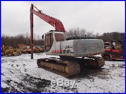 Link Belt 240LX-LR Long Reach Excavator 55' Stick Demolition Demo