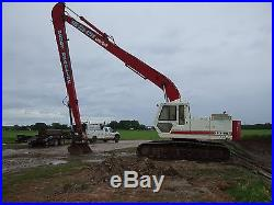 Linkbelt longreach excavator, 60 foot reach, 1 1/4 bucket
