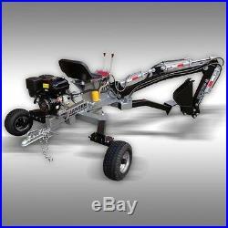 MINI BACKHOE, JANSEN EXCAVATOR, TOWABLE, TRENCHER, 10 hp, TOWABLE BACKHOE