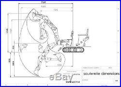 Micro Mini Digger Excavator La Sauterelle In Kit Free Shipping to US Ports