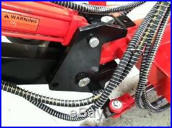 Mini Backhoe, Jansenusa Mini Excavator, Towable, Trench Digger, New