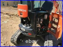 Mini Excavator 2013 Hitachi ZX35U-5N Mini Excavator