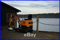 Mini Excavator, NEW