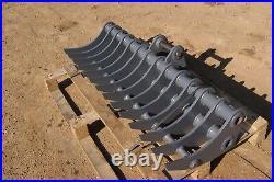 Mini digger land rakes for 2 3.8 ton excavators. HARDOX 450 Inc VAT